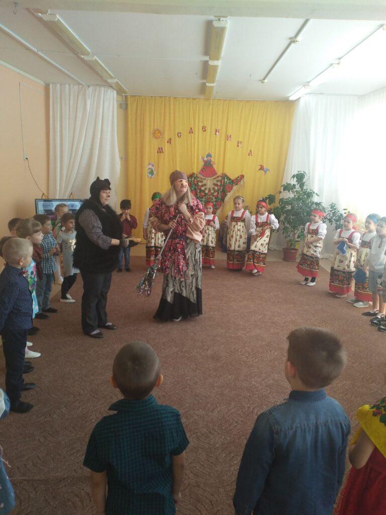 Игры с Медведем и Бабой Ягой
