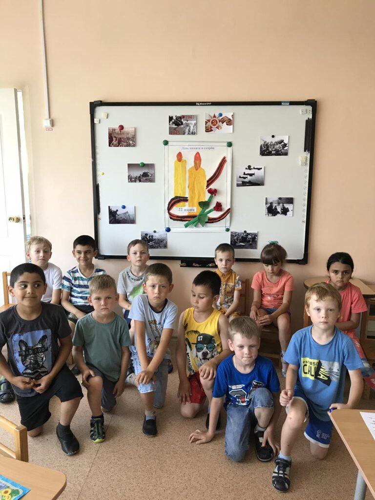 Воспитанники группы Солнышко почтили память погибших в ВОВ